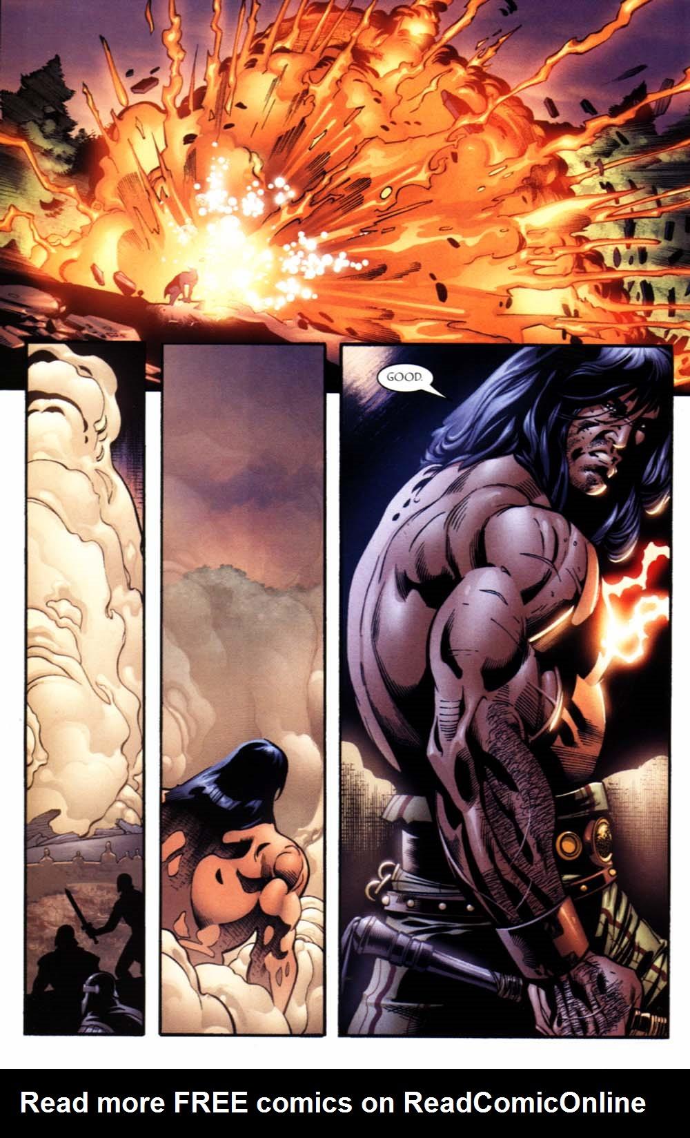 Read online Sigil (2000) comic -  Issue #19 - 23