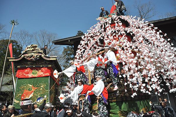 Yamada Spring Festival at Tsunemochi Shrine, Chichibu City, Saitama