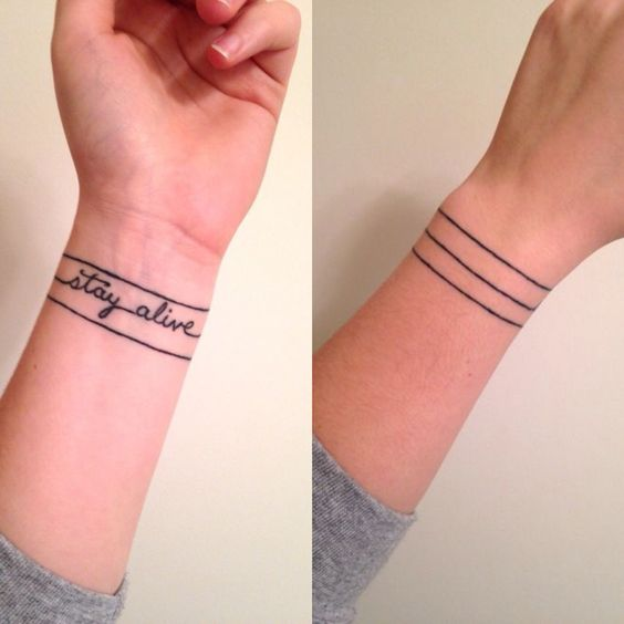 Cute Tattoo on Hand For Girls