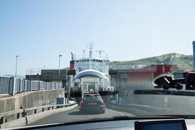 Imbarco per l'isola di Skye