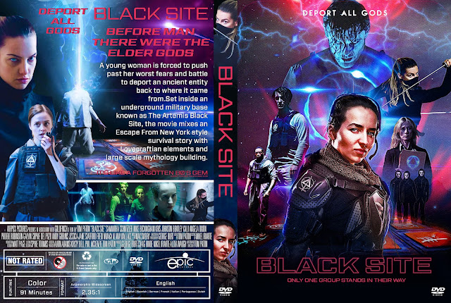 Black Site DVD Cover