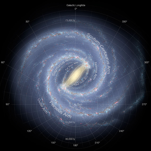 Astronomers Construct 3D Image of the Milky Way Galaxy
