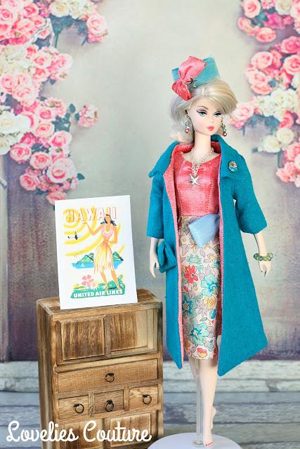 Ooak Silkstone Vintage Barbie Couture Fashions