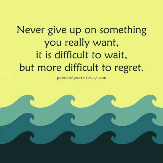 """Never Give Up Quotes"""