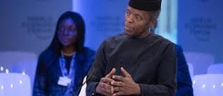 Yemi Osinbajo in Davos