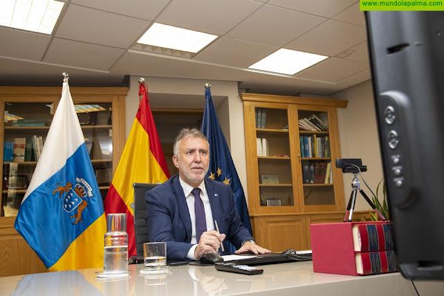 El Gobierno de Canarias solicitará este lunes que Tenerife, Gran Canaria, Lanzarote, Fuerteventura y La Palma pasen también a la fase 2