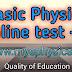 Basic Physics Online Quiz -1