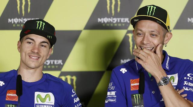 Maverick Vinales Mulai Rindukan Valentino Rossi