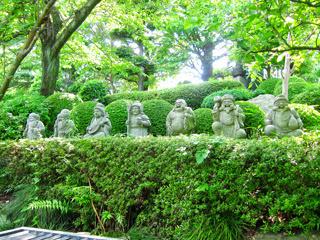 七福神の石像の写真