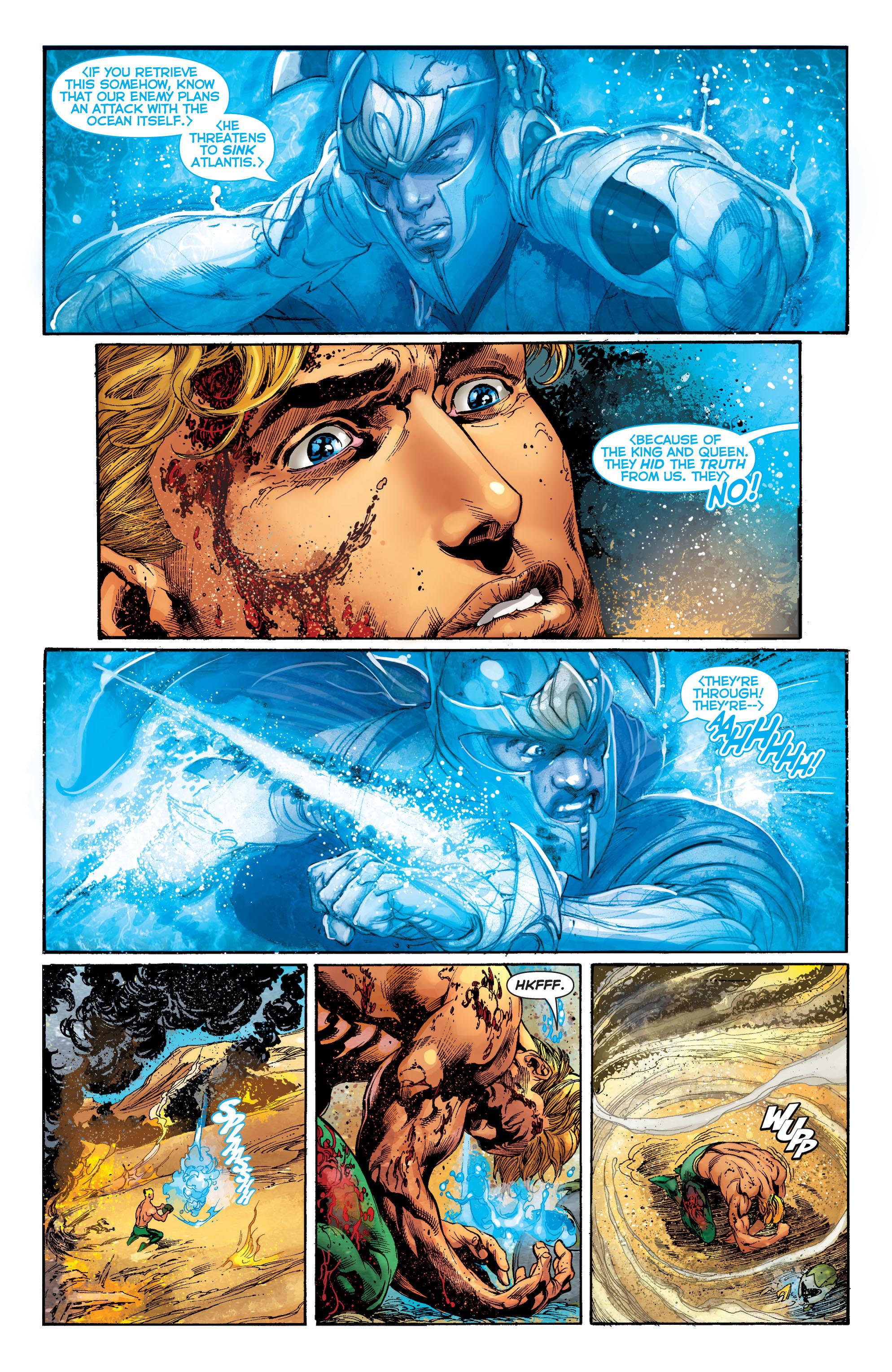 Read online Aquaman (2011) comic -  Issue #5 - 21
