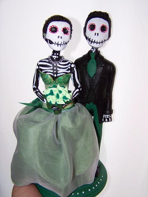 muñecos y figuras personalizadas para tartas de bodas, comuniones y
