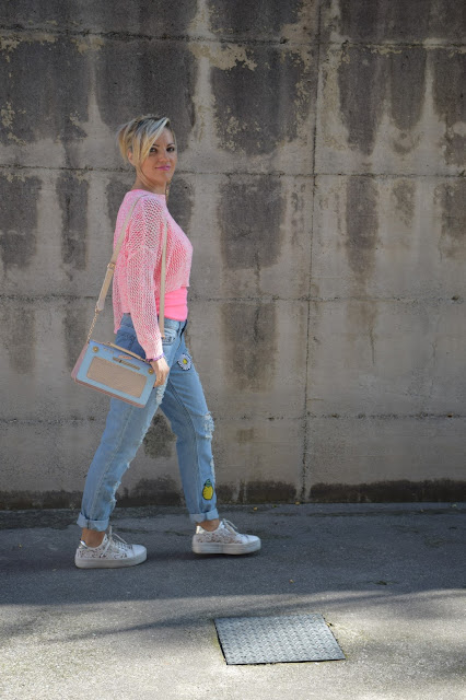 boyfriend jeans how to wear boyfriend jeans how to combine boyfriend jeans mariafelicia magno fashion blogger color block by felym fashion bloggers italy italian web influencer october outfits autumn outfit