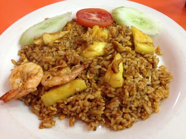 nasi goreng thailand udang nanas