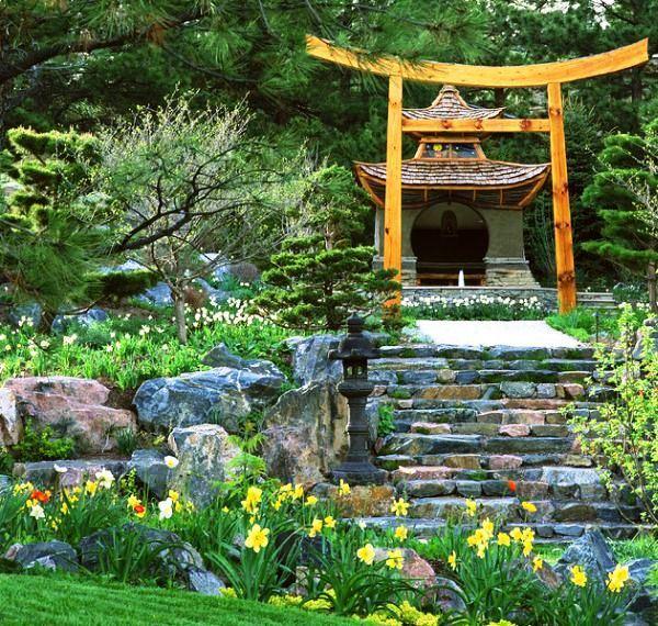Desain Taman Rumah Jepang