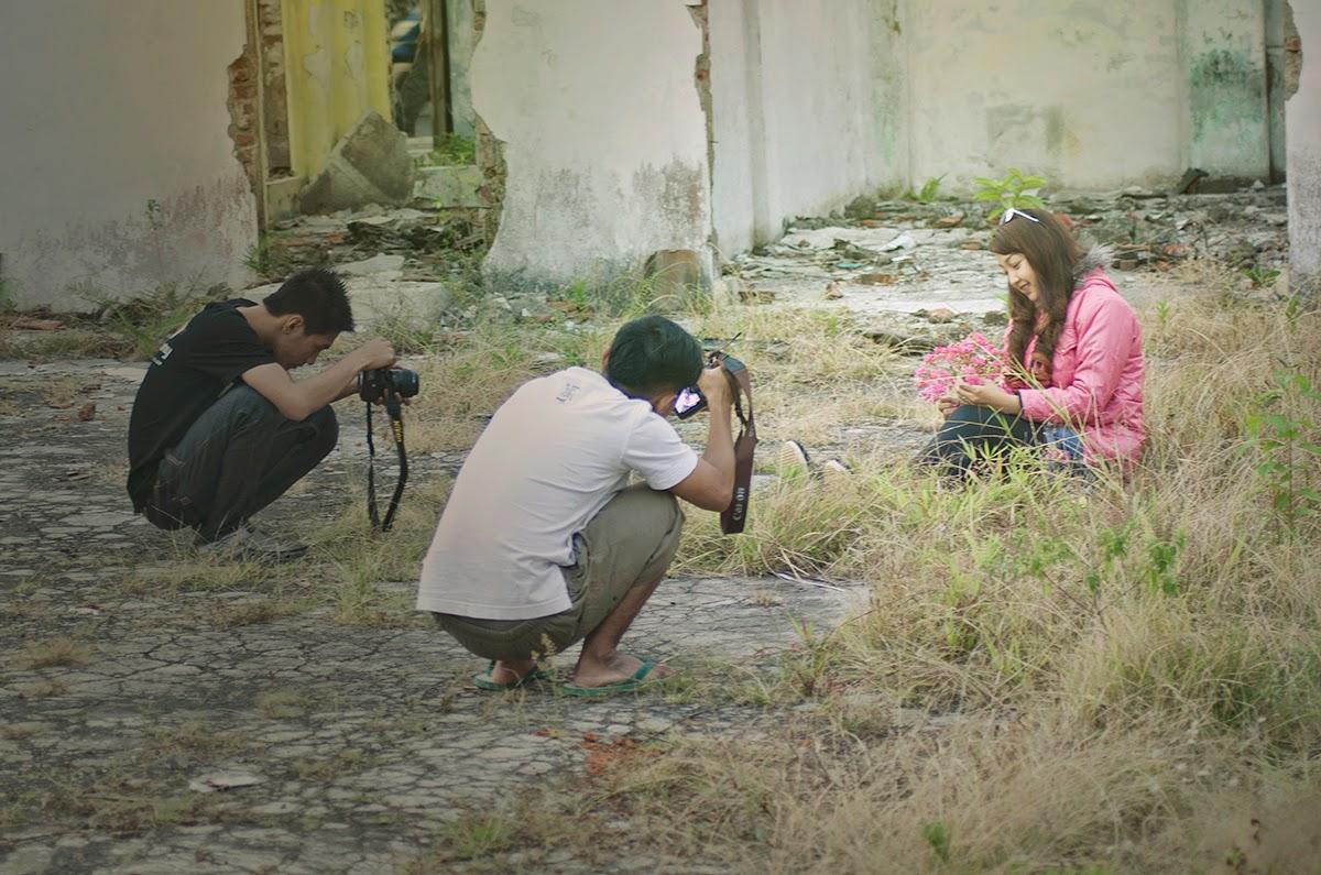 Hunting Bareng Model Tyya Banjar Art Photography