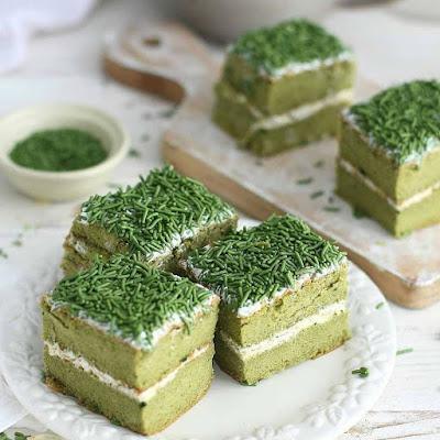 Resep Makanan Membuat Greentea Sponge Cake