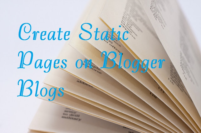 Create Static Pages Easily