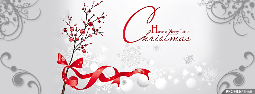 Have a Merry Little Christmas facebook cover photos and Twitter Images
