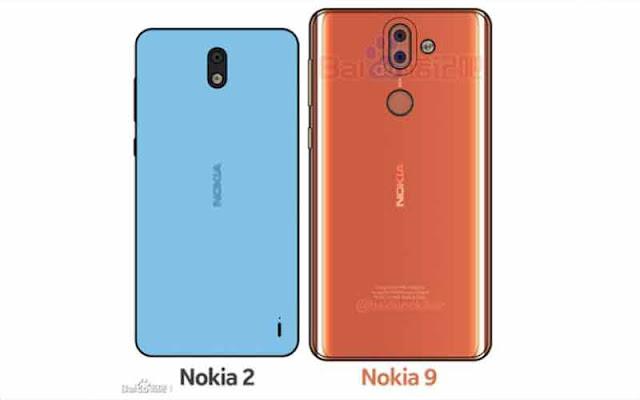 Nokia 2 and Nokia 9