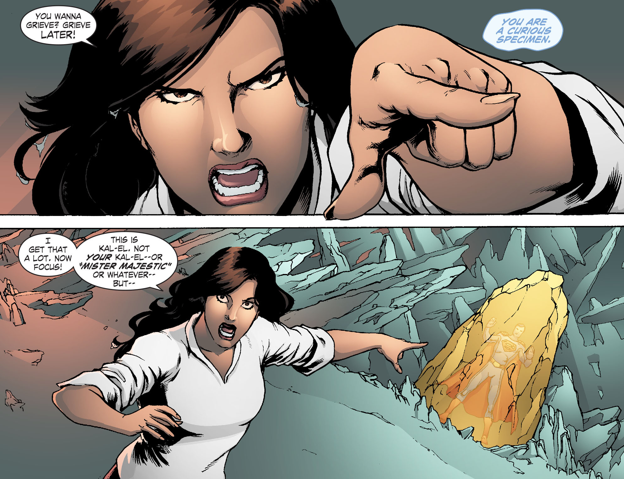 Read online Smallville: Chaos [II] comic -  Issue #6 - 12