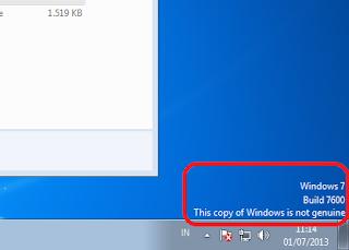 Aktivasi Windows 7 Dengan Removewat
