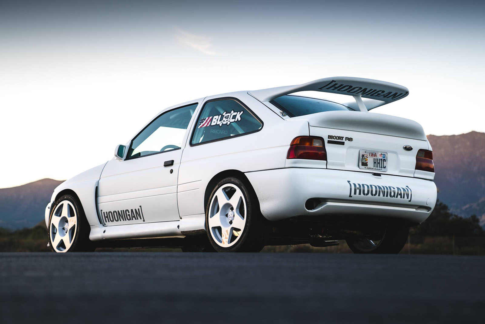 Hoonigan Escort >> Ken Block Goes Old-School With Ford Escort RS Cosworth Rally Car | Carscoops