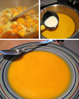 Carrot & Butternut Squash Soup @LDBlakeley