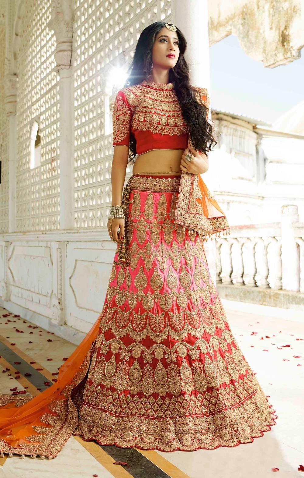 13 Stunning Indian Bridal Lehenga Choli Designs That Bride Must Have