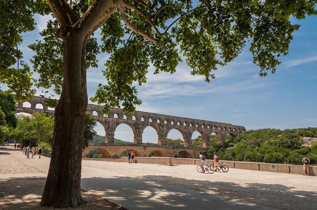 pont du gard,  wakacje z dzieckiem, vacansoleil opinie, lazurowe wybrzeże przewodnik, langwedocja przewodnik, kempingi vacansoleil, podróże z dzieckiem