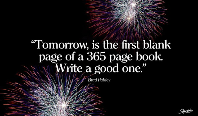 once again its here a brand new year a brand new start make the coming 12 months be the best by far pick your resolutions to succeed and be firm