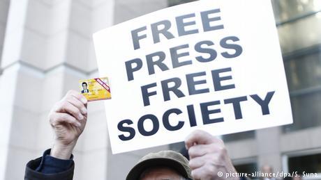 """""""Κλίμα φόβου"""" για τους δημοσιογράφους στην Τουρκία"""