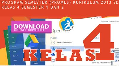 Prota Promes Untuk Kelas 1 Dan Kelas 4 Kurikulum 2013