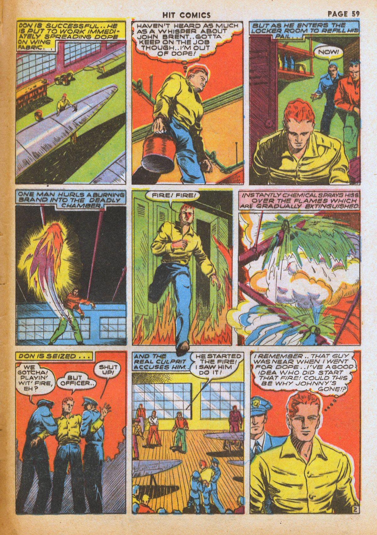 Read online Hit Comics comic -  Issue #12 - 61