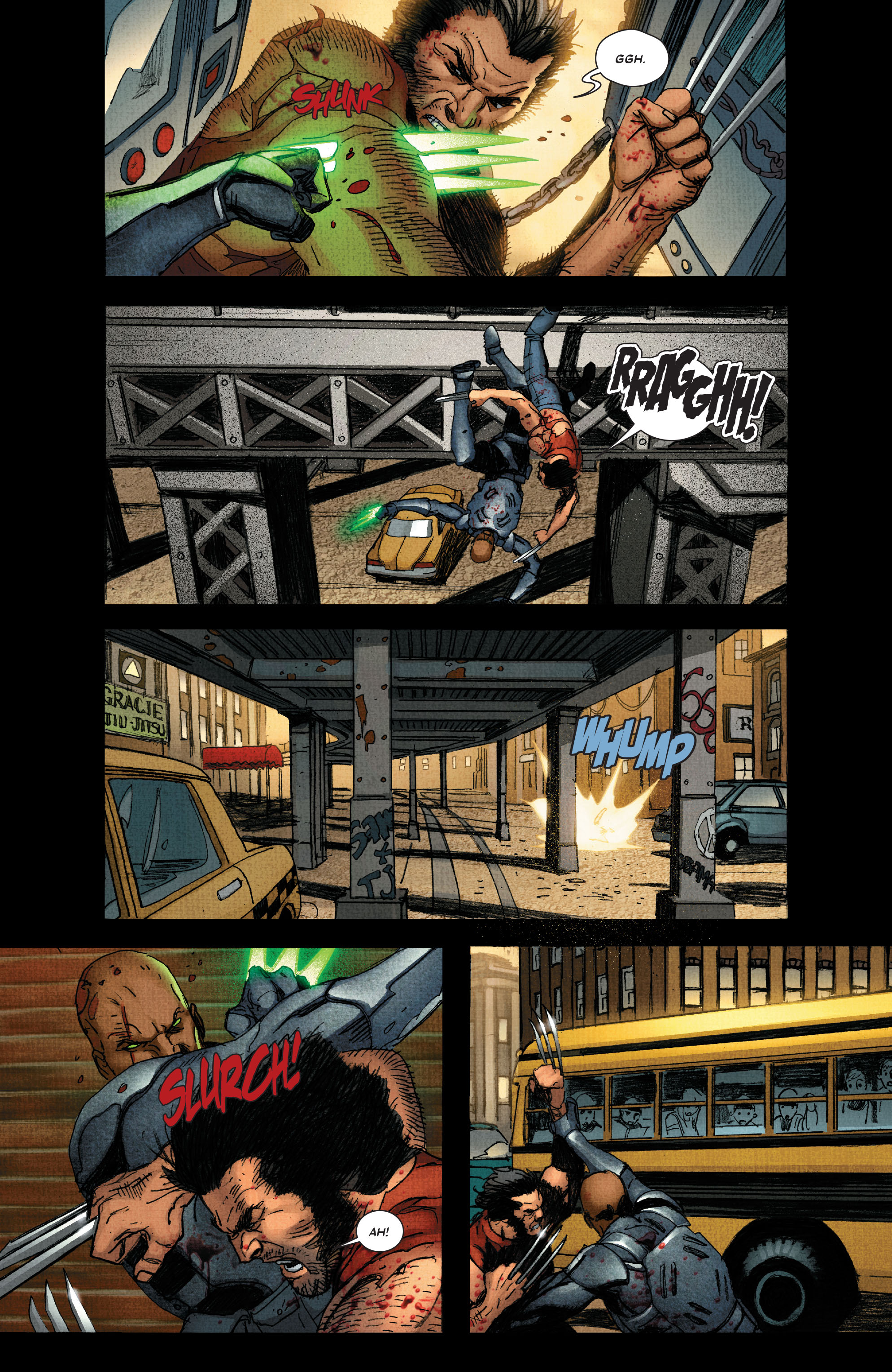 Read online Wolverine: Weapon X comic -  Issue #4 - 15
