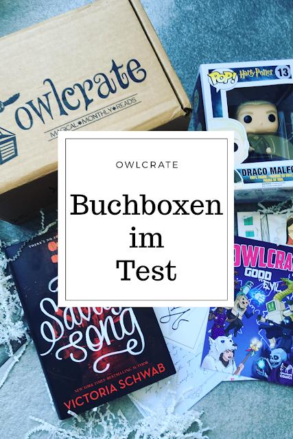 Buchboxen im Test : die Owlcrate