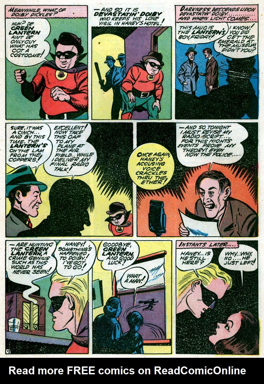 Read online All-American Comics (1939) comic -  Issue #44 - 11