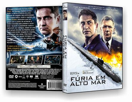 DVD – Fúria Em Alto Mar – AUTORADO – CINEMA