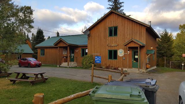 Centre d'accueil de la ZEC Louise-Gosford