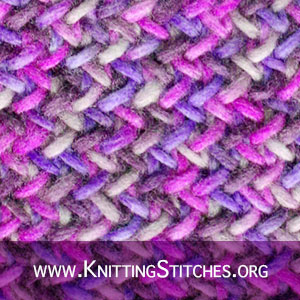 A good pattern for variegated yarn. Easy but looks great!