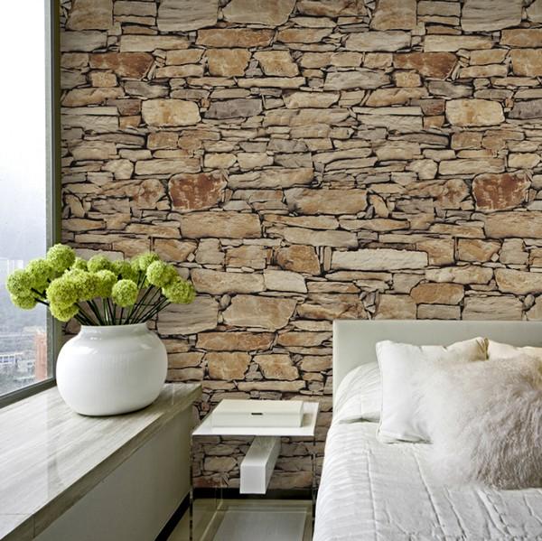Kivi tapetti kiviseinä kivimuuri taustakuva stone kivet tapetti olohuoneessa