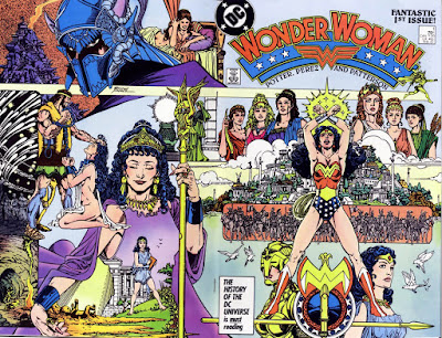 Wonder Woman #1 by George Perez