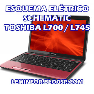 Esquema Elétrico Notebook TOSHIBA L700 / L745 Service Manual schematic Diagram Notebook TOSHIBA L700 / L745 Esquema Eléctrico Notebook TOSHIBA L700 / L745