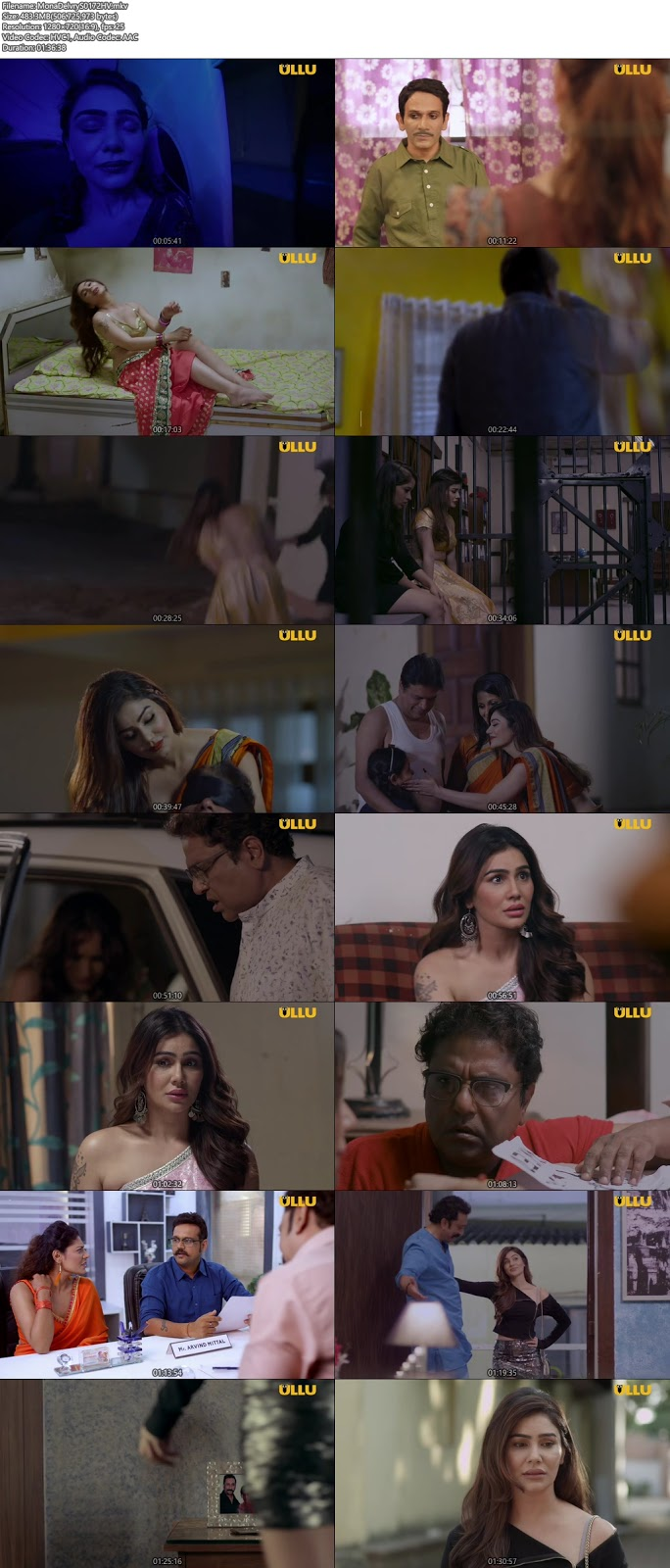 Mona Home Delivery 2019 Hindi Complete WEB Series 720p HEVC x265