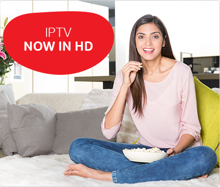 Airtel IP TV added HD Channels in Buquet