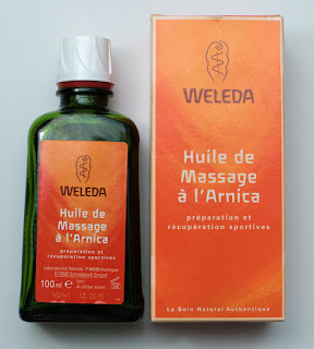 Weleda huile de massage
