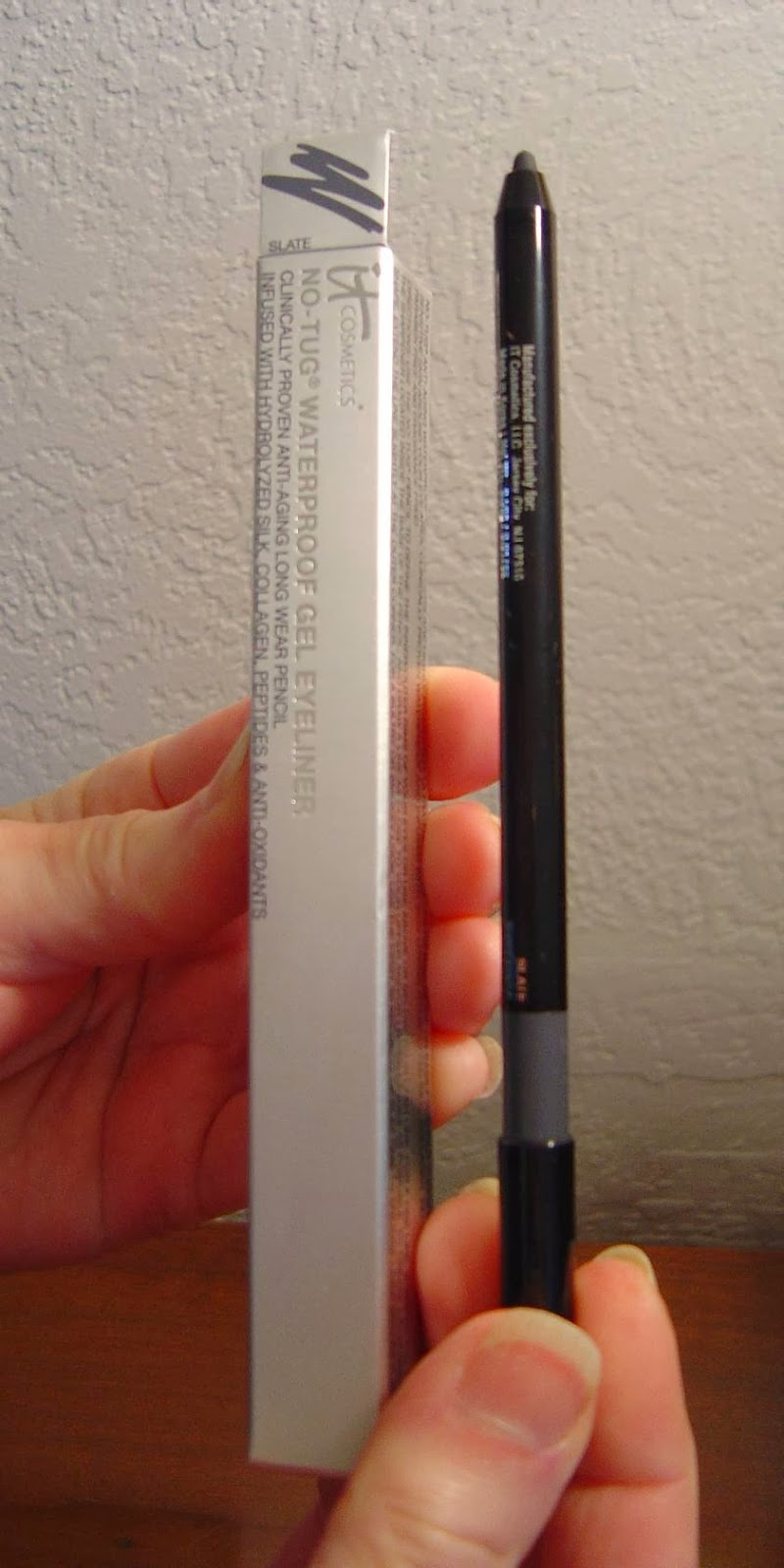 IT Cosmetics No-Tug Waterproof  Gel Eyeliners (Slate)