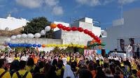 Rosario Misionero, misiones, XXV Encuentro diocesano de niños, Festival