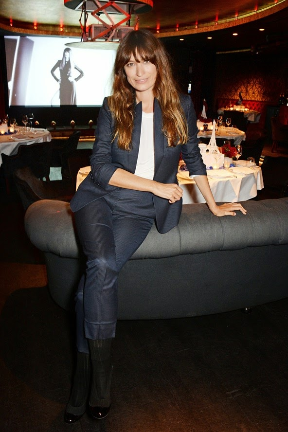 Caroline de Maigret. Photo By Dave Benett for Lancôme