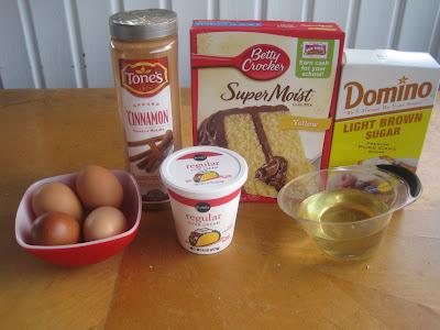 Ramblings From The Sunshine State Honey Bun Cake
