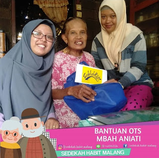 Mbah Aniati : Bantuan OTS